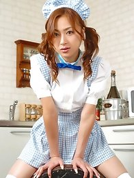 Kazumi Yukiya Asian poses so sexy no matter what she wears