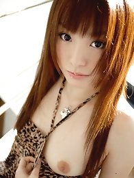 Redhead japan cute girl Yu Ayanami